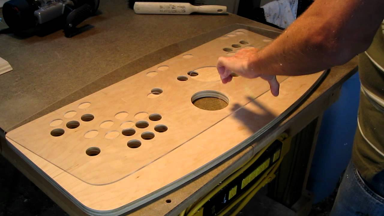Plexi Cut To Fit Control Panel Top
