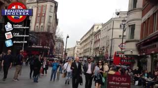 CONHECENDO - Centro de Londres (Piccadilly Circus, Leicester Sq. e Trafalgar Sq.)