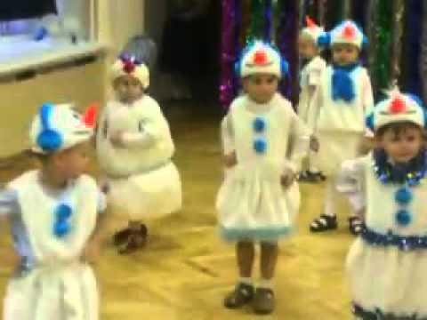 Снеговик танцует - утренник