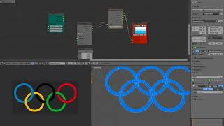 LIVENODING 983 / SV Improv 3D Olympic Logo