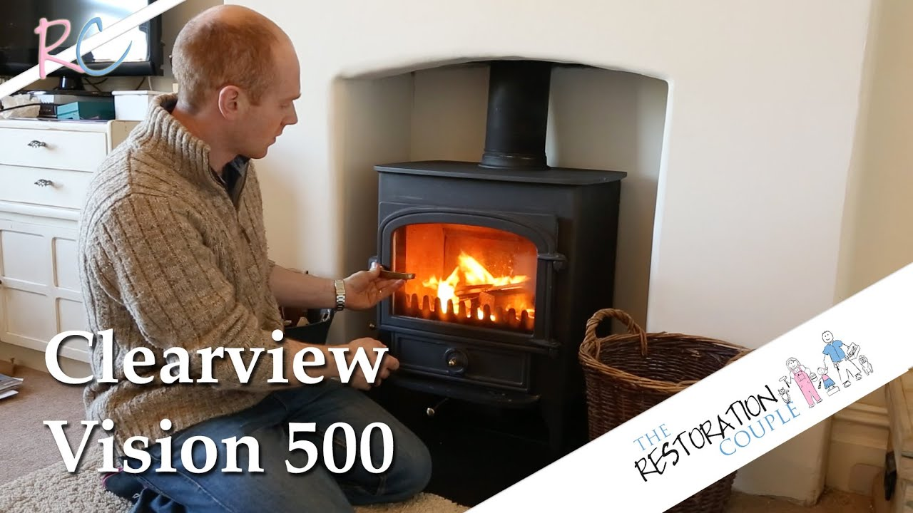 clearview wood burning stove a quick review youtube