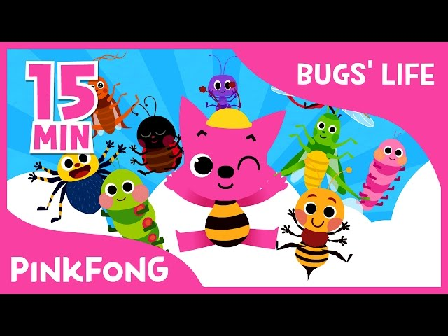Bugs Life | Ants in My Pants and more | +Compilation | Bug Songs | Pinkfong Songs for Children