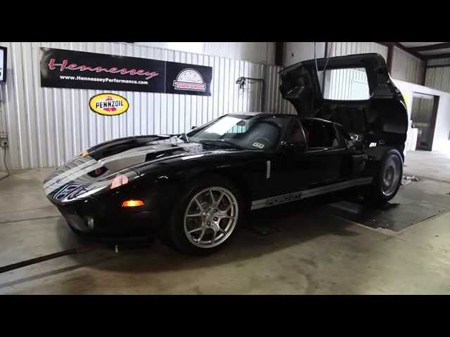 Video Twin Turbocharged Ford Gt By Hennessey Dyno Test Top Speed