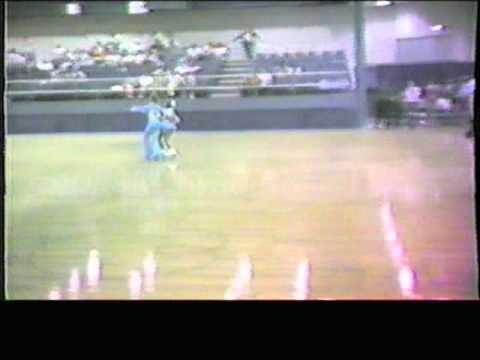 1984 Southwest Regional Roller Skating Championships - Senior Dance Elimination - Silouhette Fxtrot1