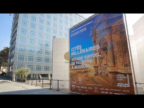 Cités Millénaires : voyage virtuel à l'Institut du Monde Arabe