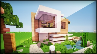 minecraft casa moderna construir pequena como