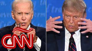 Joe Biden y Donald Trump: mira completo el primer debate presidencial en español