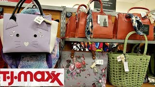 SHOP WITH ME TJ MAXX PURSE WALK THROUGH DOONEY AND BOURKE JUNE 2018