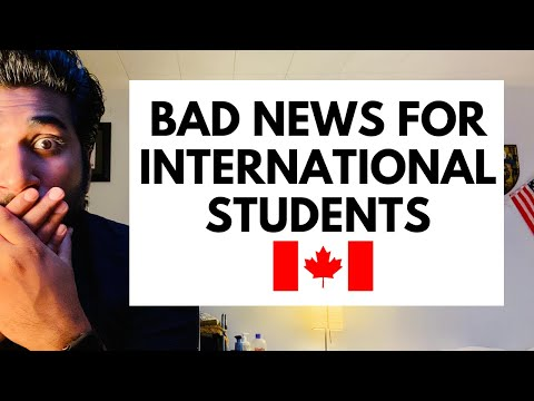 Bad News For Canada International Students 2020