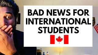 Gambar cover Bad News for Canada International Students 2020