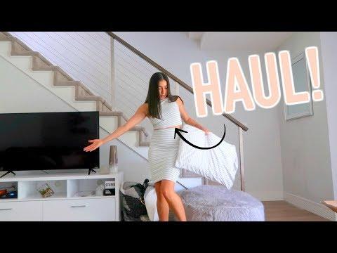 Mini Haul, Meeting Jessica Alba, & Hardest Workout Yet!  Jeanine Amapola