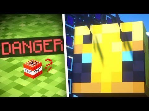 Minecraft Non-Euclidean SIZE Experiments! |