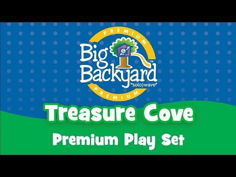 Treasure Cove Play Set By Big Backyard