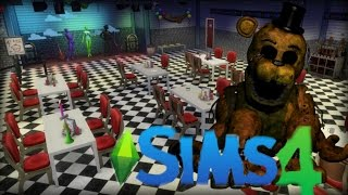 Five Nights At Freddy's | Sims 4 Speed Build