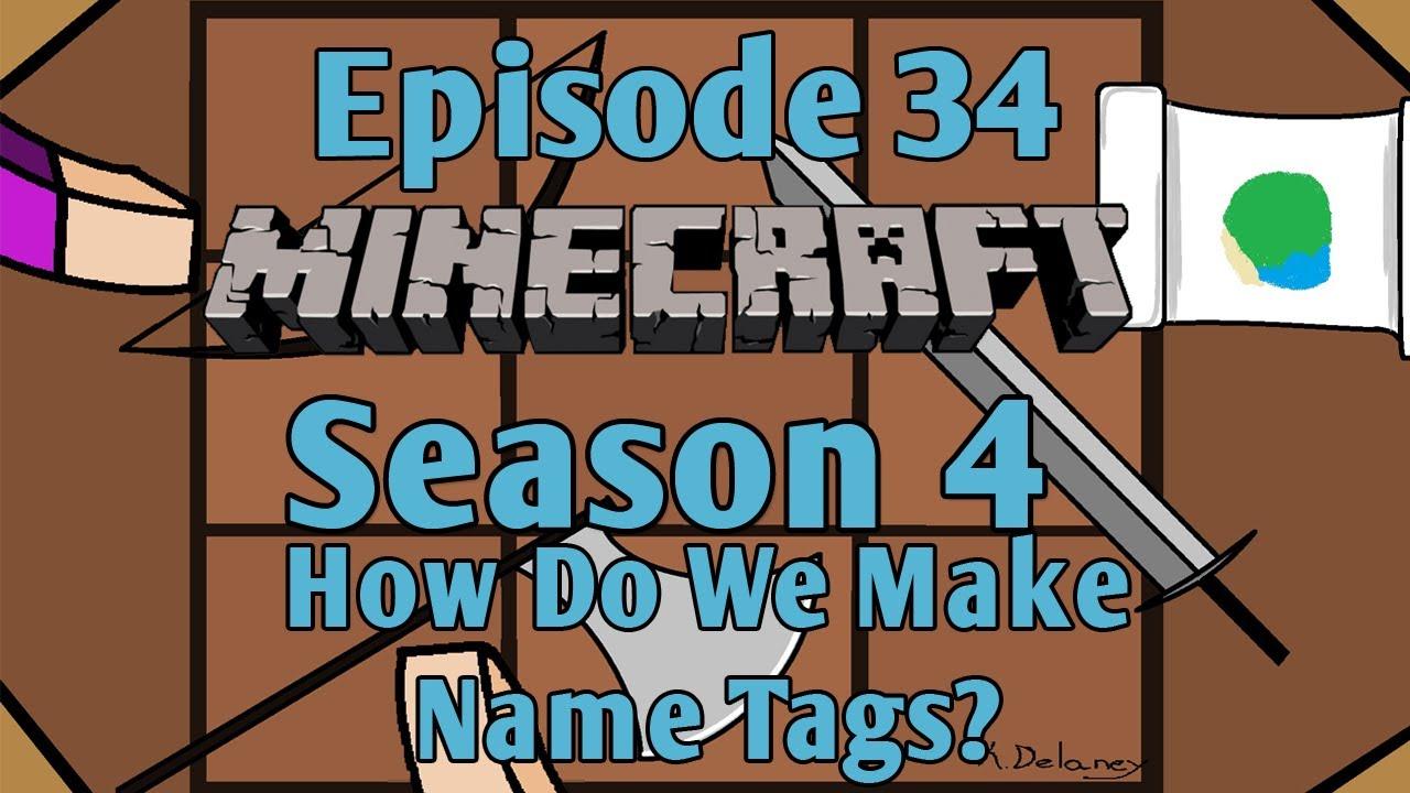 how to make name tags