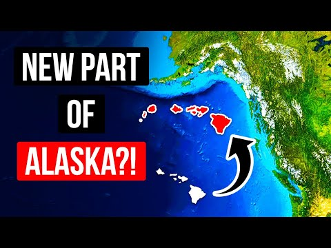 Something's Pushing Hawaii Closer to Alaska Each Year