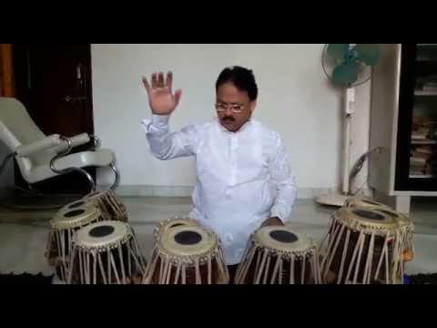 तबले से बजाया - जन गण मन | Tabla Tarang - India's National Anthem by Pandit Ram Krishna Bose