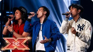 JBK battle it out for a seat with Boyz II Men classic | Six Chair Challenge | The X Factor 2017