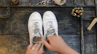 Come lavare le scarpe bianche in 3 passi