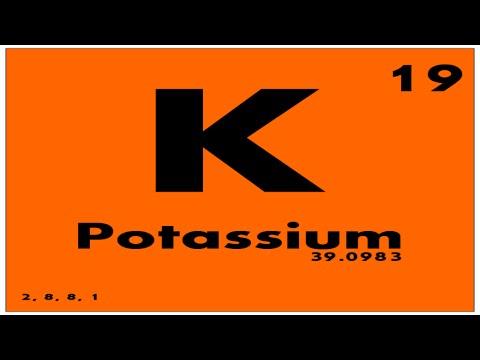 Study guide 19 potassium periodic table of elements youtube study guide 19 potassium periodic table of elements urtaz Images