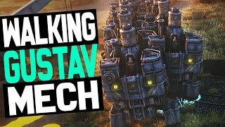 Artillery Mech Platoon!!  - Iron Harvest Gameplay