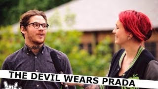 THE DEVIL WEARS PRADA interview with Mike Hranica and Chris Rubey | www.pitcam.tv