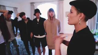 BTS and Halsey┊방탄소년단 할시를 만났다.(Boy With Luv) feat. Halsey' Official Tease