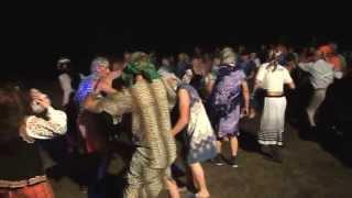 Свадьба в селе на западной Украине