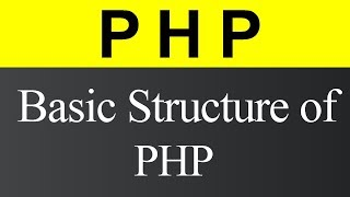 Basic Structure of PHP (Hindi)
