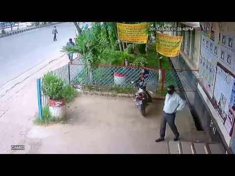 bike theft infornt of cctv dhaka poly