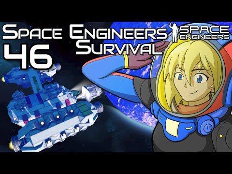 POOP EVERYWHERE!! | The Hydrogen Tug is Epic | Space Engineers Survival Gameplay | 46