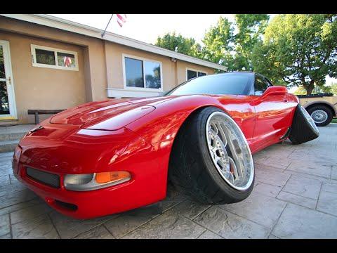 The Corvette Gets New Wheels! -#WillTheyFit #WhatAreThose!? #Whorevette
