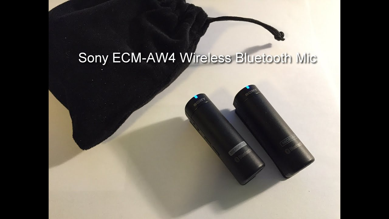 Sony ECM-AW4 Wireless Bluetooth Lavalier or Lapel Microphone for iPhone,  DSLR Review