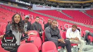 Maria Taylor sits down with former Georgia and Alabama players | ESPN