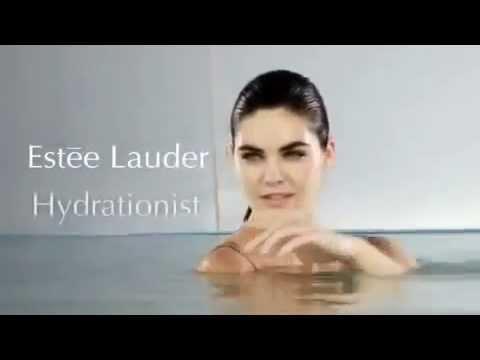 Estee Lauder Hydrationist & Hilary Rhoda - YouTube