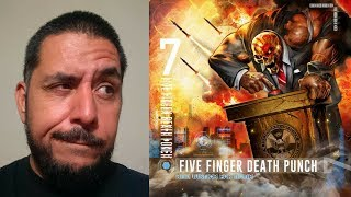 FIVE FINGER DEATH PUNCH - And Justice For None comentario reseña