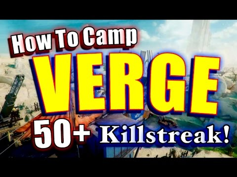 How to Camp VERGE: Black Ops 3 DLC Eclipse Dark Matter Camo ICR-1 Class