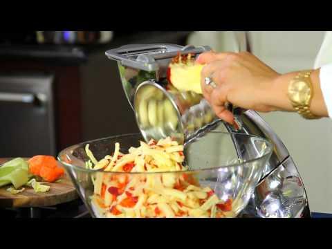 5 minutes High Fiber Salad By Jael Tanti www.happycookingco.com