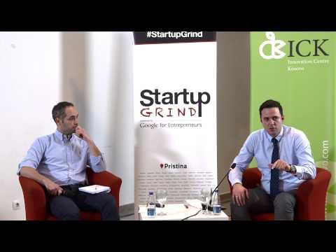 Startup Grind Pristina Event 6 hosts Lumir Abdixhiku Riinvest Institute