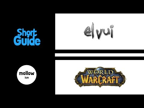 ElvUI GUIDE - Part 3: BAGS, BUFFS, CHAT, DATAPANELS
