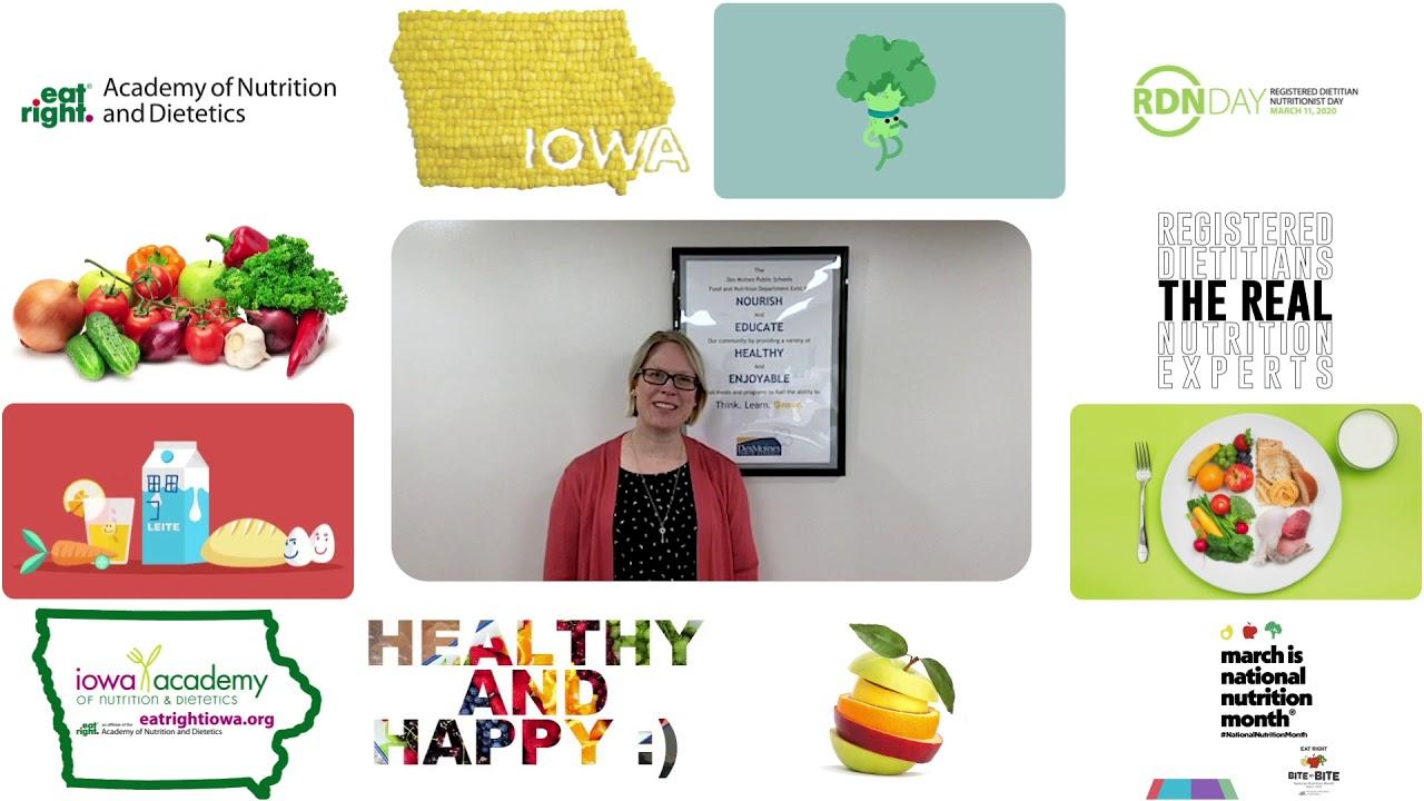 National Nutrition Month 2020 - Anita Turczynski
