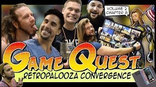 The Game Quest | Volume 2 Chapter 8 - 'Retropalooza Convergence'