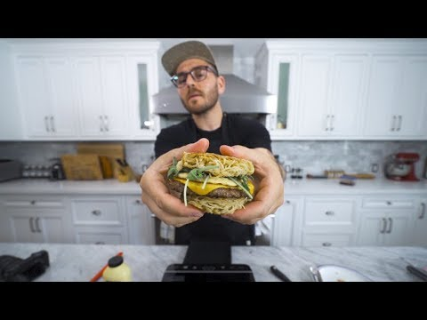 making 3 burgers i've never tried before