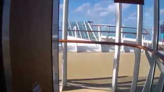 Oasis of the Seas Secret Place for Great Views & Quiet