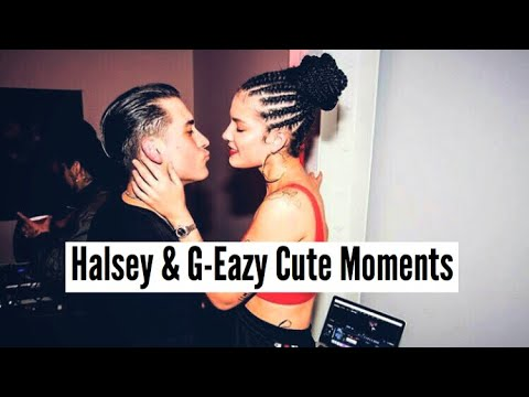 Halsey & GEazy  Cute Moments
