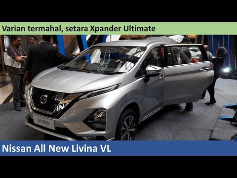 Nissan All New Livina VL review - Indonesia
