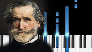"""Va, pensiero"" (Nabucco - Chorus of the Hebrew Slaves) - Verdi - Piano Tutorial"