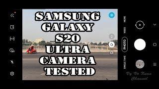 Samsung Galaxy S20 Ultra camera tested