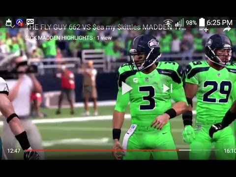 half off a7d01 6dbdf SEATTLE SEAHAWKS TNF BRIGHT ACTION GREEN COLOR RUSH UNIFORMS LOOK JUST LIKE  MADDEN 17