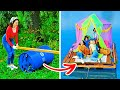 HUGE DIY BOAT || 25 AWESOME RECYCLING CRAFTS YOU CAN MAKE FROM OLD STUFF